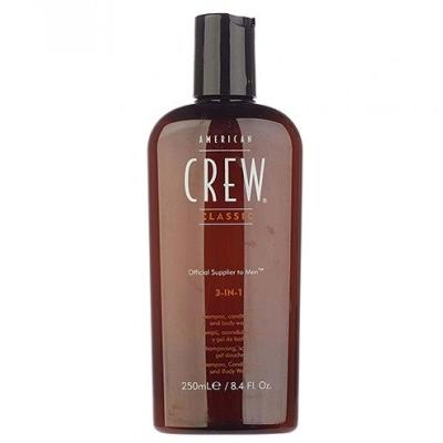 3-в-1 Средство по Уходу за Волосами и Телом American Crew Shampoo Conditioner and Body Wash 250 мл