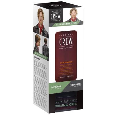 Набор American Crew Get The Look Daily Shampoo + Forming Cream DUO (Ежедневный Шампунь 250 мл + Формирующий Крем 85 г) NEW