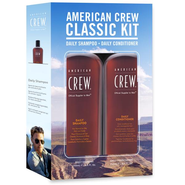 Набор American Crew DUO Holiday Ежедневный Шампунь 250 мл + Кондиционер 250 мл