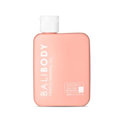 Персиковое Масло для Загара c Защитой SPF15 Bali Body Peach Tanning Oil 100 мл