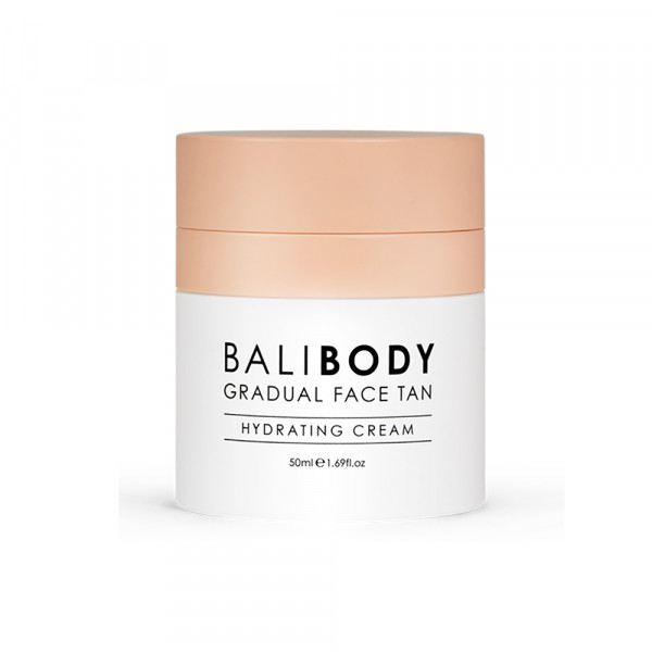 Увлажняющий Крем для Лица с Эффектом Автозагара Bali Body Gradual Face Tan 50 мл