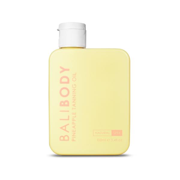 Масло для Загара Ананас с Фактором Защиты от Солнечных Лучей Bali Body Pineapple Tanning Oil SPF6 100 мл (срок годности до 03/21)