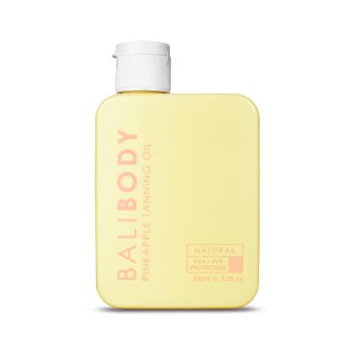 Масло для Загара Ананас с Фактором Защиты от Солнечных Лучей Bali Body Pineapple Tanning Oil SPF15 100 мл