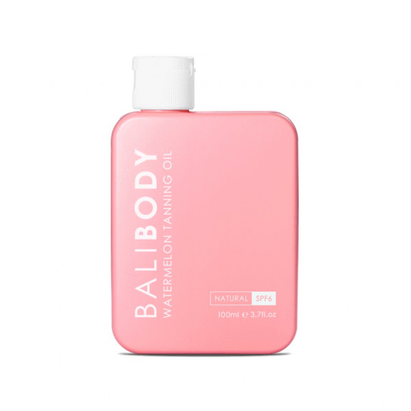 Масло для Загара Арбуз с Фактором Защиты от Солнечных Лучей Bali Body Watermelon Tanning Oil SPF6 100 мл