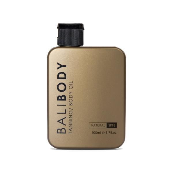 Масло для Загара Натуральное Кокос с Фактором Защиты от Солнечных Лучей Bali Body Natural Tanning and Body Oil SPF6 100 мл