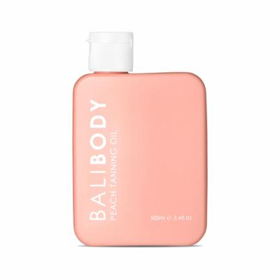 Персиковое Масло для Загара без Защиты Bali Body Peach Tanning Oil 100 мл