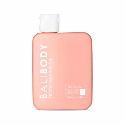 Персиковое Масло для Загара c Защитой SPF6 Bali Body Peach Tanning Oil 100 мл