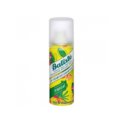Сухой Шампунь для Волос Batiste Tropical с Тропическим Ароматом 50 мл