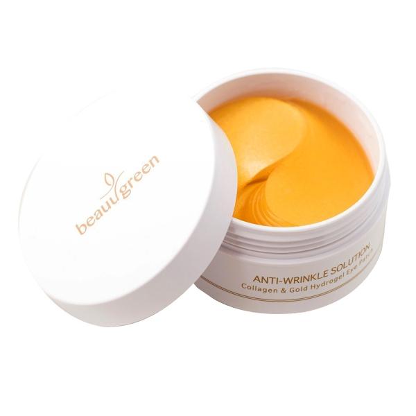 Гидрогелевые Патчи Среднего Размера BeauuGreen Collagen & Gold Hydrogel Eye Patch 60 шт