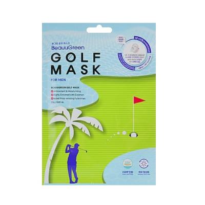 Мужская Гольф Маска для Лица BeauuGreen Golf Men Mask Pack