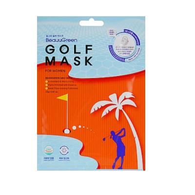 Гольф Маска для Лица BeauuGreen Golf Women Mask Pack