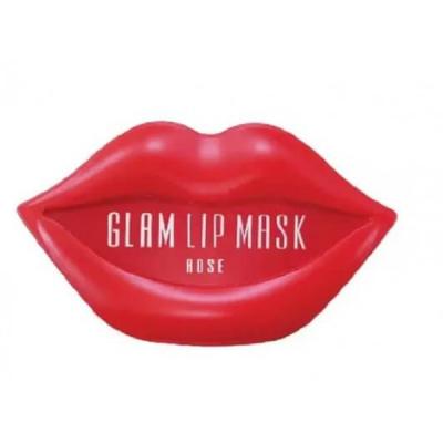 Гидрогелевые Патчи для Губ с Розой BeauuGreen Hydrogel Glam Lip Mask Rose 3 г