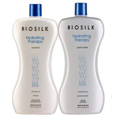 Увлажняющие Шампунь и Кондиционер Biosilk Silk Hydrating Shampoo 950 мл + Conditioner 950 мл