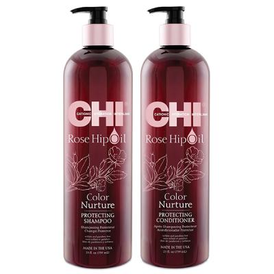 CHI Rose Hip Protecting Shampoo 750 мл + Conditioner 750 мл
