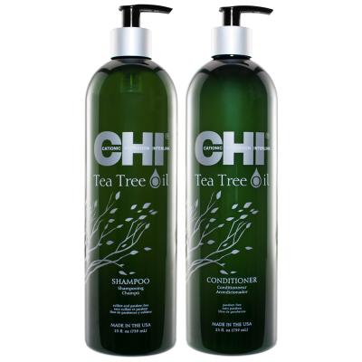 Набор для Чувствительной Кожи Головы CHI Tea Tree OIL (Шампунь 740 мл + Кондиционер 740 мл)