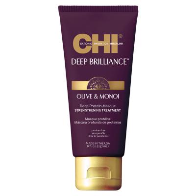 Протеиновая Маска для Волос CHI Deep Brilliance Olive & Monoi Optimum Protein Masque 237 мл