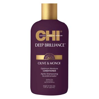 Кондиционер для Всех Типов Волос CHI Deep Brilliance Olive & Monoi Optimum Moisture 355 мл