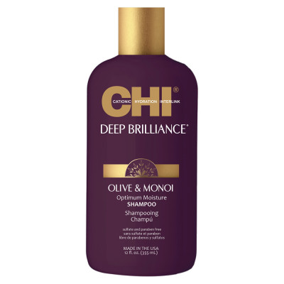 Шампунь CHI Deep Brilliance Olive & Monoi Optimum Moisture 355 мл