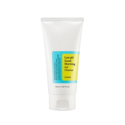 Гель-Пенка с ВНА-Кислотами COSRX Low pH Good Morning Cleanser Gel 150 мл