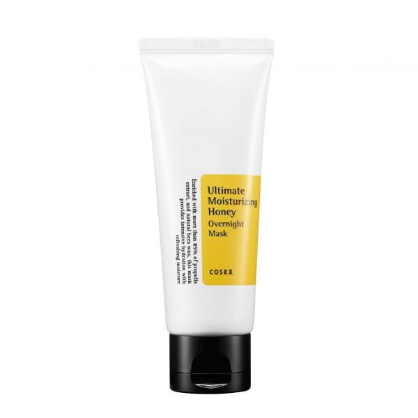 Ночная Маска с Прополисом COSRX Ultimate Moisturizing Honey Overnight Mask 60 мл