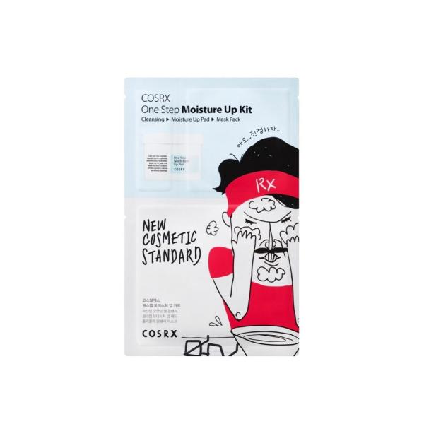 Набор для Увлажнения Кожи COSRX One Step Moisture Up Kit 4 шт (21 мл+1.2 мл+2x5 мл)