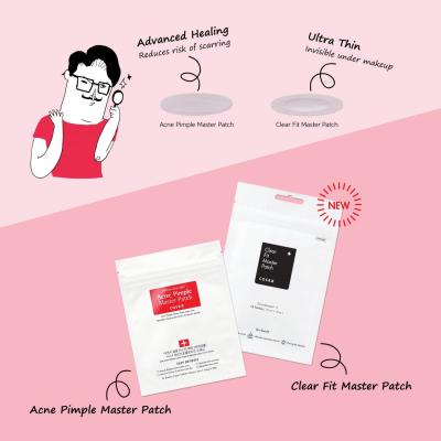 Очищающие Патчи для Проблемной Кожи COSRX Clear Fit Master Patch 18 шт