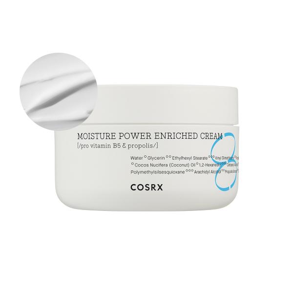 Увлажняющий и Успокаивающий Крем для Чувствительной Кожи COSRX Moisture Power Enriched Cream 50 мл