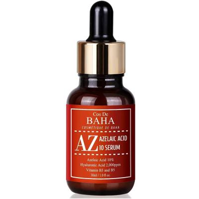 Сыворотка с Азелаиновой Кислотой для Борьбы с Акне и Куперозом Cos De Baha Azelaic Acid 10% Serum with Niacinamide 30 мл