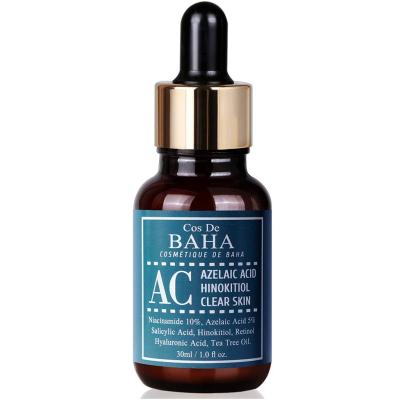 Сыворотка Против Акне Cos De Baha Acne Treatment Serum Azelaic acid 5%, Niacinamide 10%, Salicylic Acid, Retinol, Tea Tree 30 мл