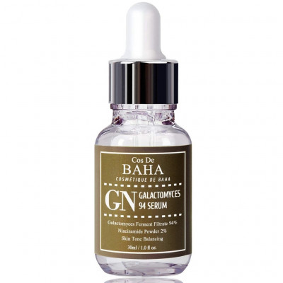 Сыворотка с Галактомисис Cos De Baha Galactomyces 94% Treatment Essence Serum 2% Niacinamide 30 мл
