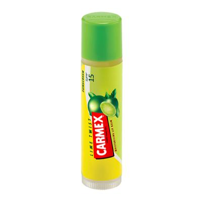Бальзам для Губ Carmex Lip Balm Stick SPF 15 Lime Twist с Ароматом Лайма в Стике 4.25 г