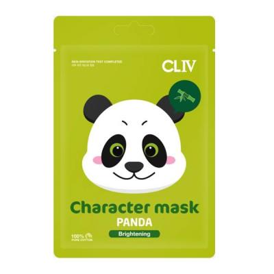 """Тканевая Маска для Сияния Кожи Лица """"Панда"""" CLIV Character Mask Panda Brightening 20 мл"""
