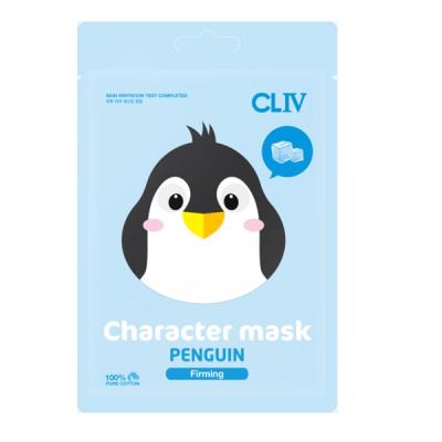 "Тканевая Маска для Упругости Кожи Лица ""Пингвин"" CLIV Character Mask Penguin Firming 20 мл"