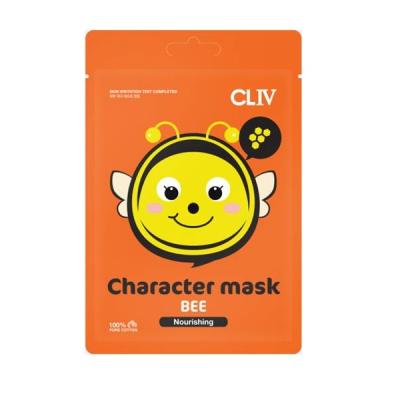 """Питательная Тканевая Маска """"Пчелка"""" CLIV Character Mask Bee Nourishing 20 мл"""