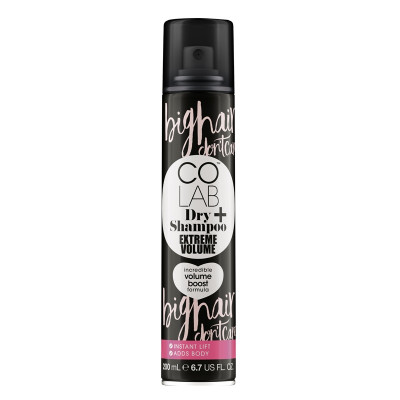 Сухой Шампунь для Придания Объёма COLAB Dry Shampoo Extreme Volume 200 мл
