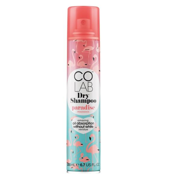 Сухой Шампунь с Ароматом Тропических Фруктов и Сладкого Кокоса COLAB Dry Shampoo Paradise 200 мл
