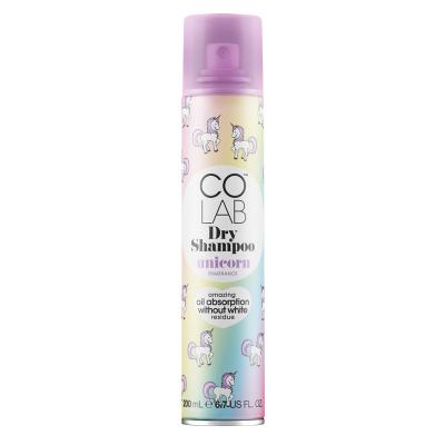 Сухой Шампунь с Ароматом Сливы и Ванили COLAB Dry Shampoo Unicorn 200 мл