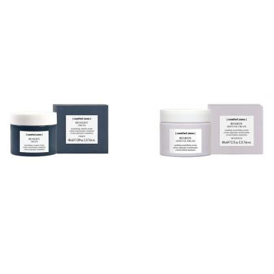 Набор Защитный Крем для Чувствительной Кожи и Ночной Питательный Крем Comfort Zone Love Your Skin 60+60 мл