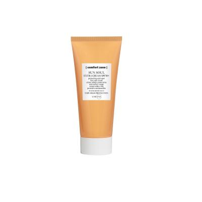 Солнцезащитный Экстра-Крем с Антивозрастным Эффектом для Лица SPF50+ Comfort Zone Sun Soul Extra Cream 60 мл