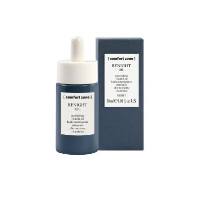 Ночное Питательное Витаминное Масло для Лица Comfort Zone Renight Nourishing Vitamin Oil 30 мл