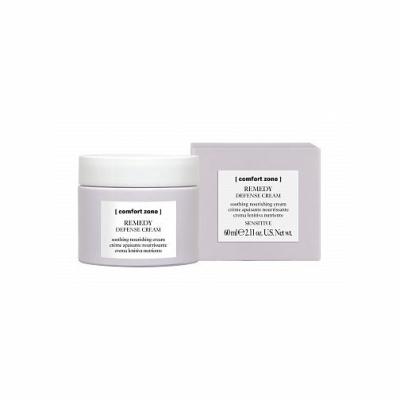 Успокаивающий Защитный Крем для Чувствительной Кожи Лица Comfort Zone Remedy Defense Cream 60 мл