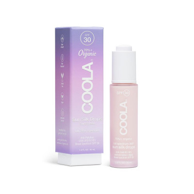 Солнцезащитный Крем для Лица SPF 30 Coola Full Spectrum 360 Mineral Sun Silk Drops Organic Sunscreen 30 мл