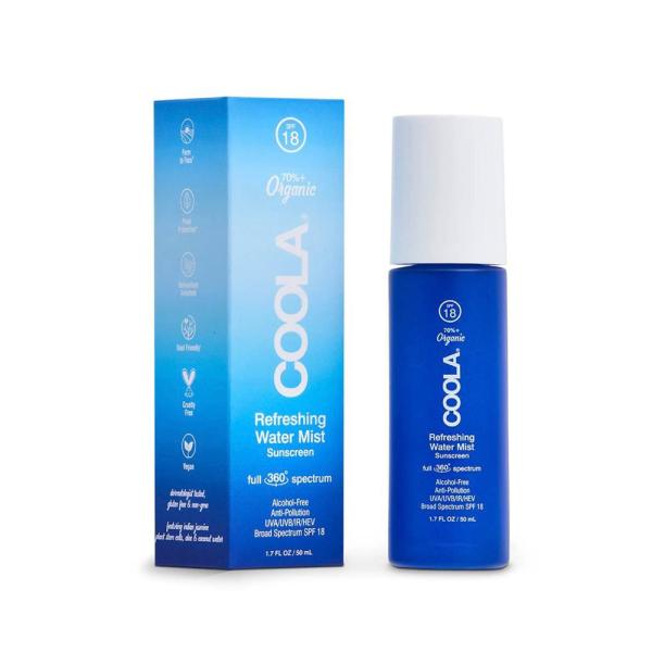 Спрей для Лица SPF 18 Coola Full Spectrum 360° Refreshing Water Mist Organic Face Sunscreen SPF 18 50 мл
