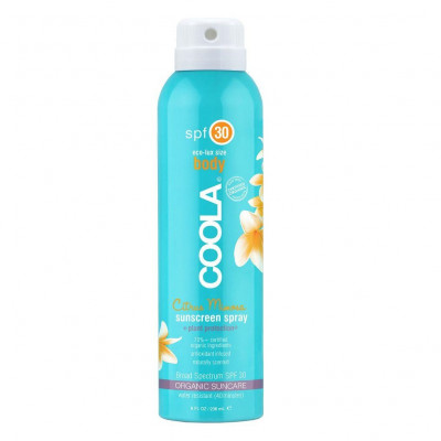 Солнцезащитный Спрей для Тела (Цитрус Мимоза) SPF 30 Coola Classic Body Organic Sunscreen Spray Citrus Mimosa 236 мл
