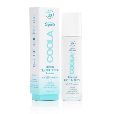 Минеральный Солнцезащитный Крем для Лица SPF 30 Coola Full Spectrum 360° Mineral Sun Silk Crème Organic Sunscreen 44 мл