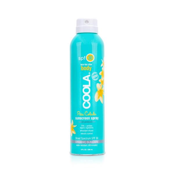 Солнцезащитный Спрей для Тела (Пина Колада) SPF 30 Coola Classic Body Organic Sunscreen Spray Pina Colada 236 мл