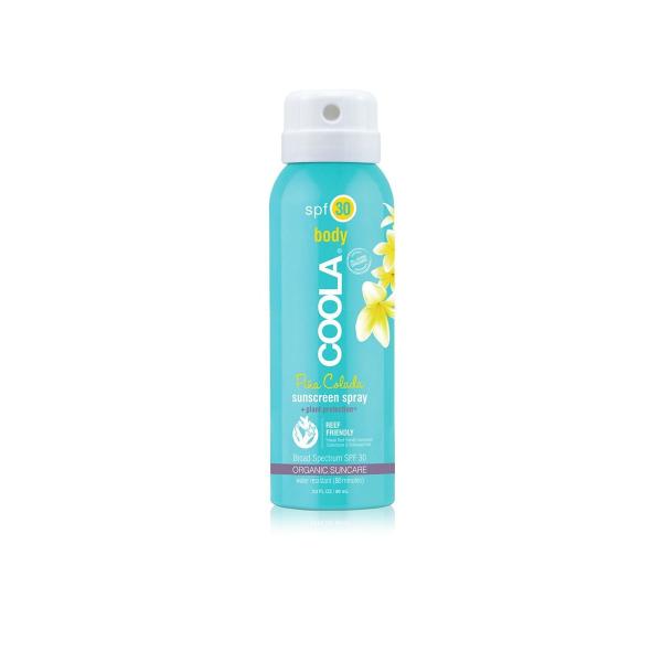 Солнцезащитный Спрей для Тела (Пина Колада) SPF 30 Coola Travel Size Classic Body Organic Sunscreen Spray Pina Colada 90 мл