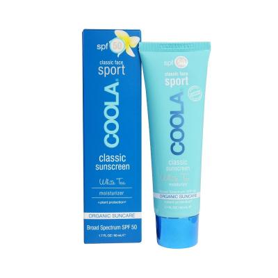 Солнцезащитный Крем для Лица (Белый Чай) SPF 50 Coola Classic Face Organic Sunscreen Lotion-White Tea 50 мл