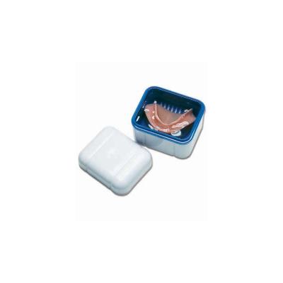 """Контейнер с Решёткой для Хранения Съёмных Зубных Протезов """"Синий"""" Curaprox BDC 110"""