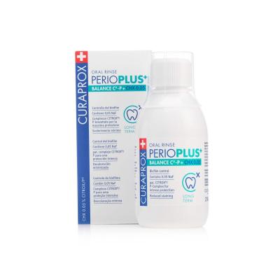 Ополаскиватель для Полости Рта с Хлоргексидином 0.05% Curaprox Perio Plus Balance 200 мл